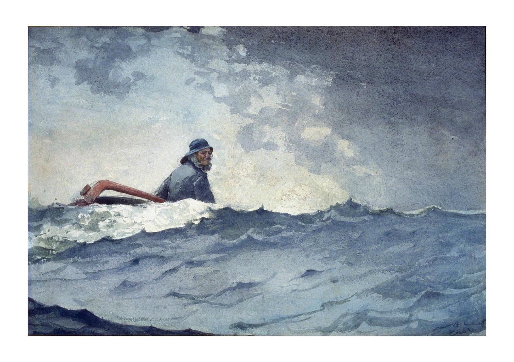 Winslow Homer - A Swell of the Ocean