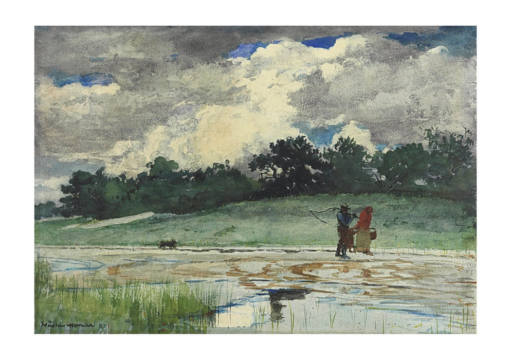 Winslow Homer - After the Rain Prouts Neck (1887)