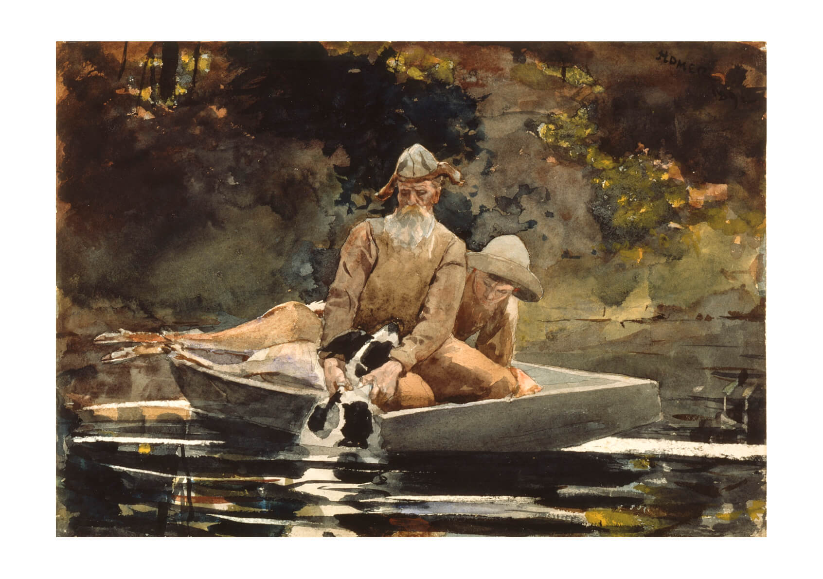 Winslow Homer - After the hunt (1892)