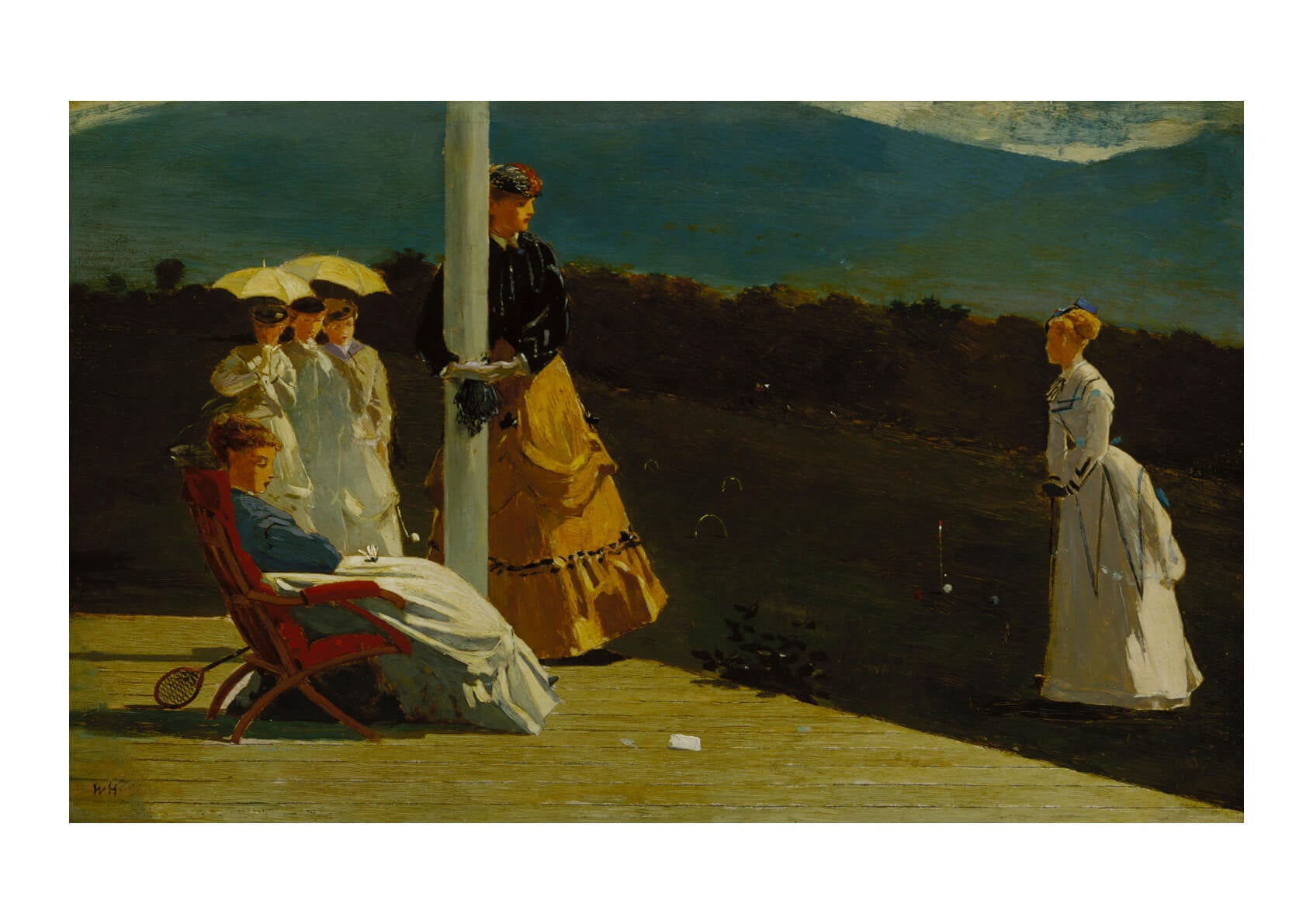 Winslow Homer - Croquet Match