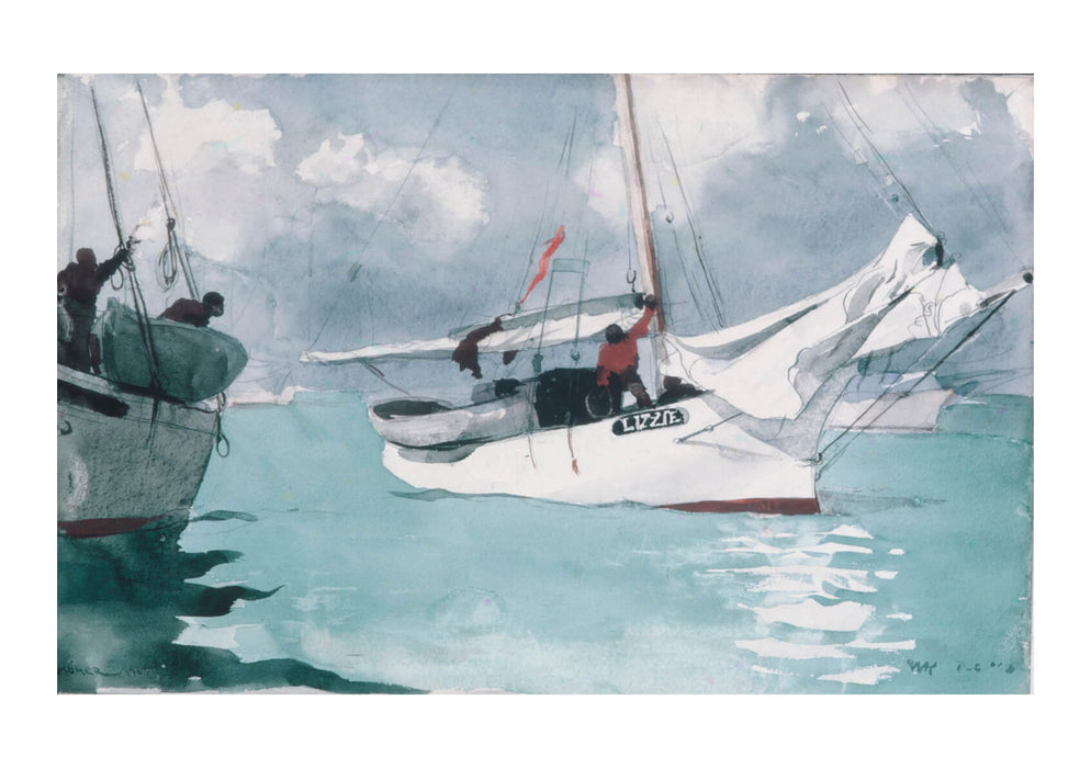 Winslow Homer - Fishing Boats Key West
