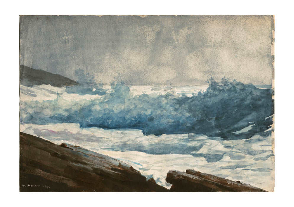 Winslow Homer - Prout's Neck Breakers
