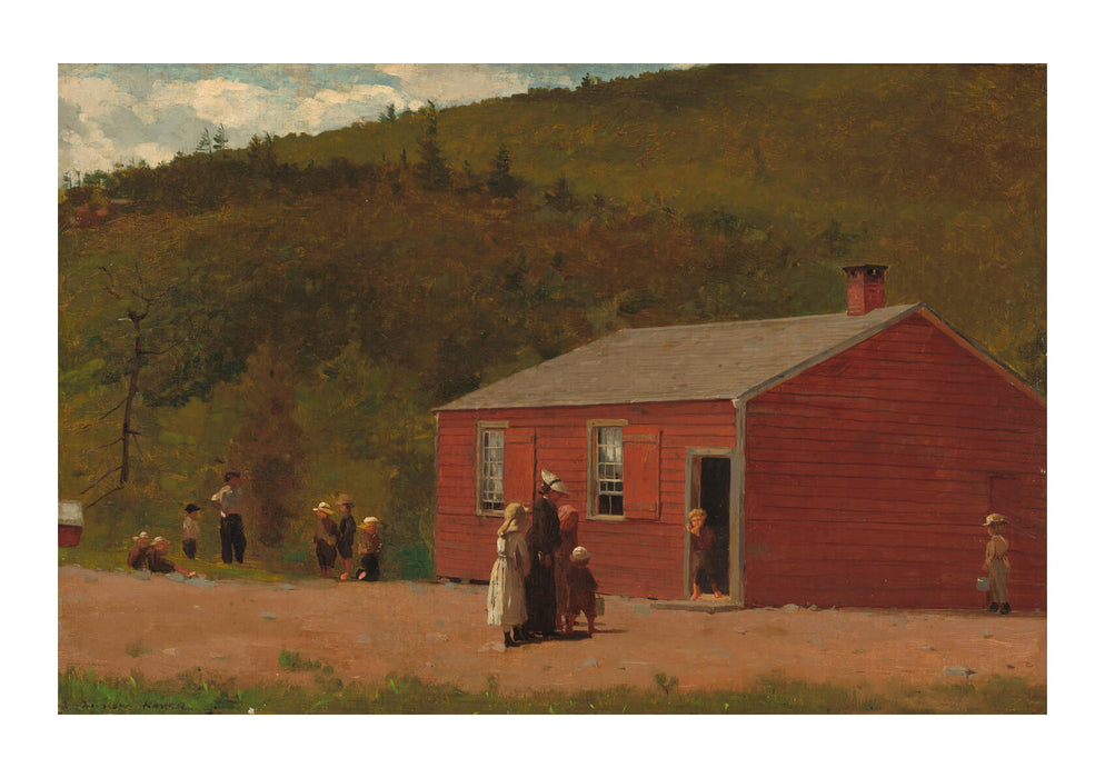 Winslow Homer - School Time (1874)