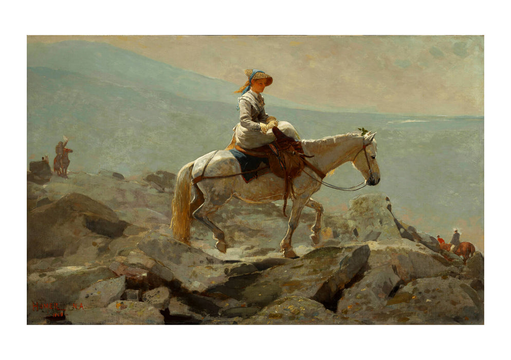 Winslow Homer - The Bridle Path White Mountains