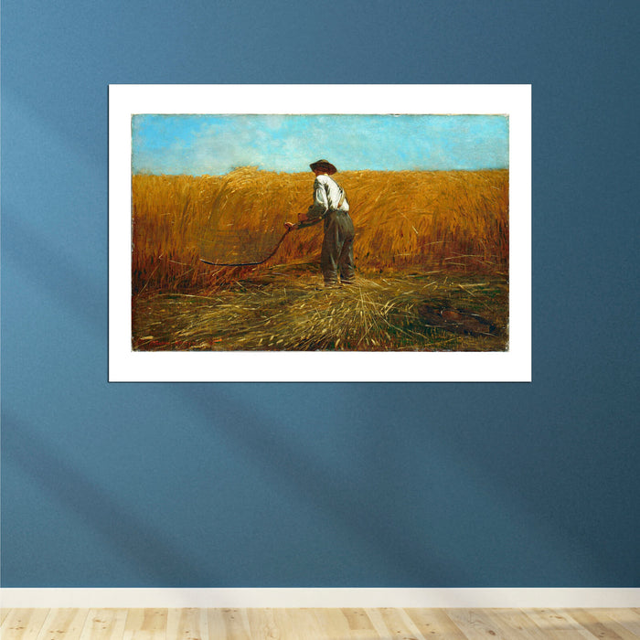 Winslow Homer - The Veteran in a New Field Harvesting
