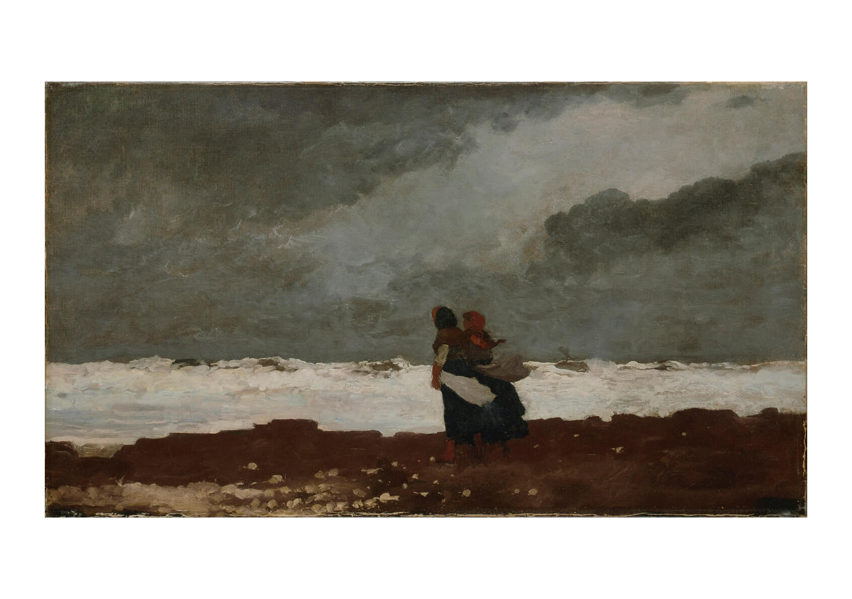 Winslow Homer - Two Figures by the Sea