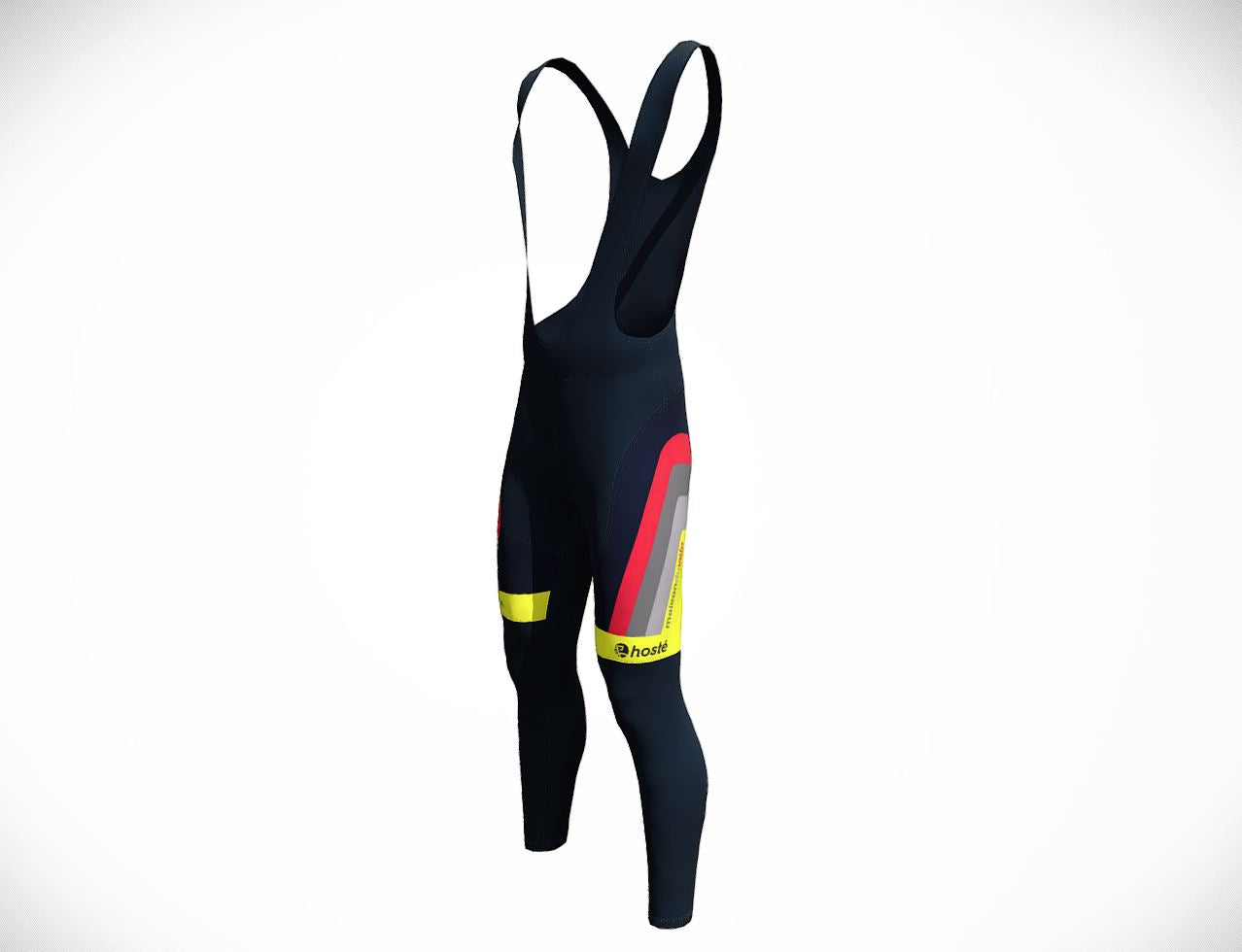 MDV Fluro Hosté Winter Bib Tights