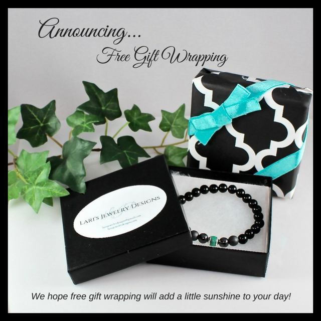 Free Gift Wrap - Lari's Jewelry Designs