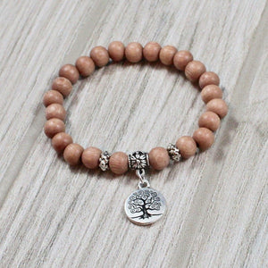 Tree of Life Rosewood Bracelet