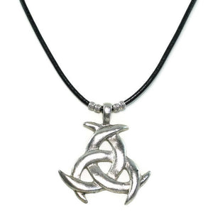 Triple Moon Symbol Necklace