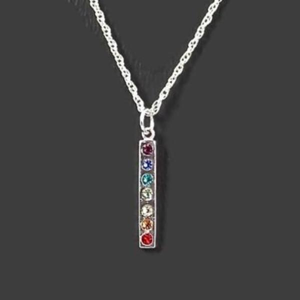 Women's 7 Chakra Pendant Necklace