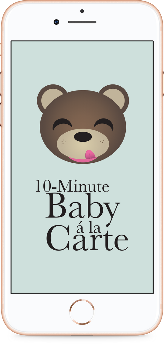 PRESS RELEASE: Relaunch of 10-Minute Baby à la Carte – now with free recipes!