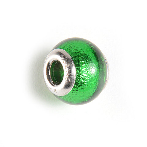 Charm with Foil in Dark Green