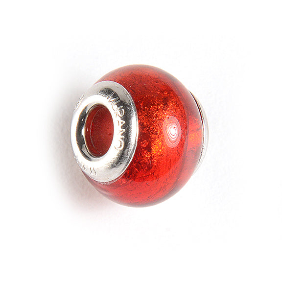 Charm with Foil in Red
