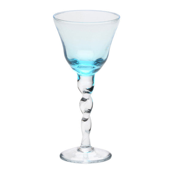 Villa d'Este Aquamarine Wine Glass