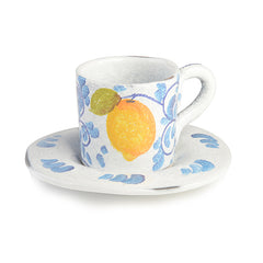 Amalfi Espresso Cup and Saucer