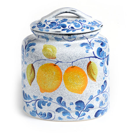 Amalfi Cookie Jar