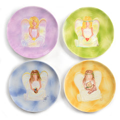 Angel Plate (set of four)