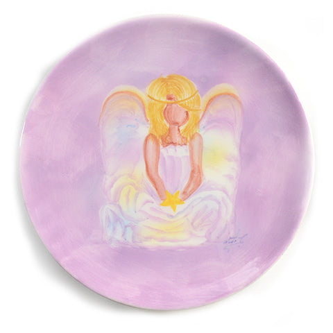 Angel Plate with Star