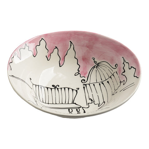 Appunti di Viaggio Rose Serving Bowl