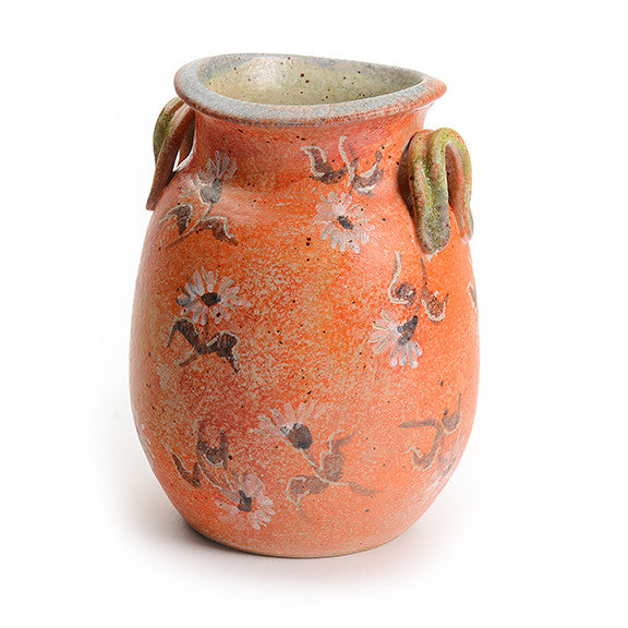 Artist Series Small Orange Vase