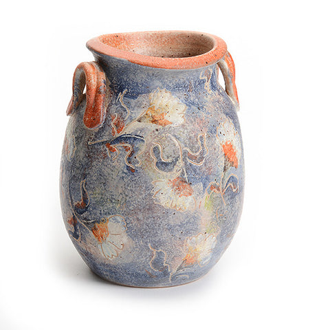 Artist Series Small Blue Vase