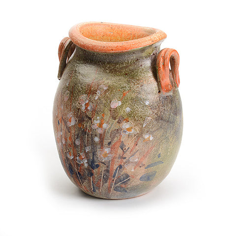 Artist Series Small Green Vase