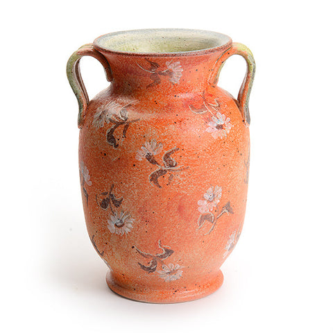 Artist Series Large Orange Vase