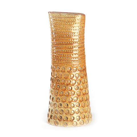 Artist Series Tall Yellow Vase