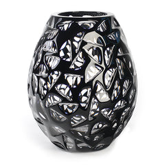 Artist Series Black Glass Vase