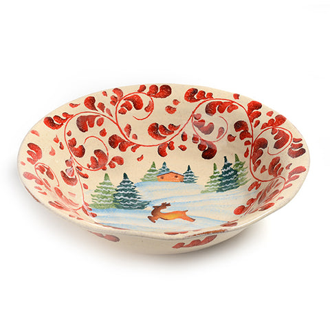 Montagne Invernali Serving Bowl