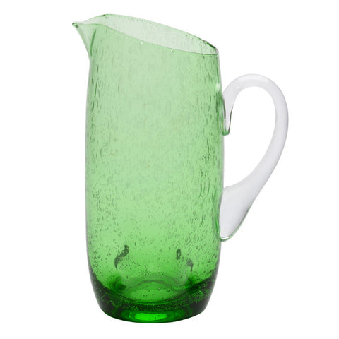 Tivoli Solid Green Pitcher