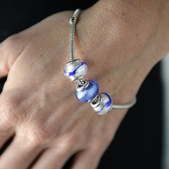 Charm with Foil in Purple