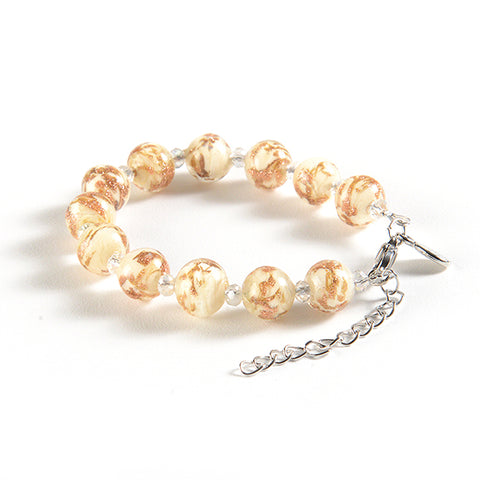 Braccialetto with Clasp in Ivory