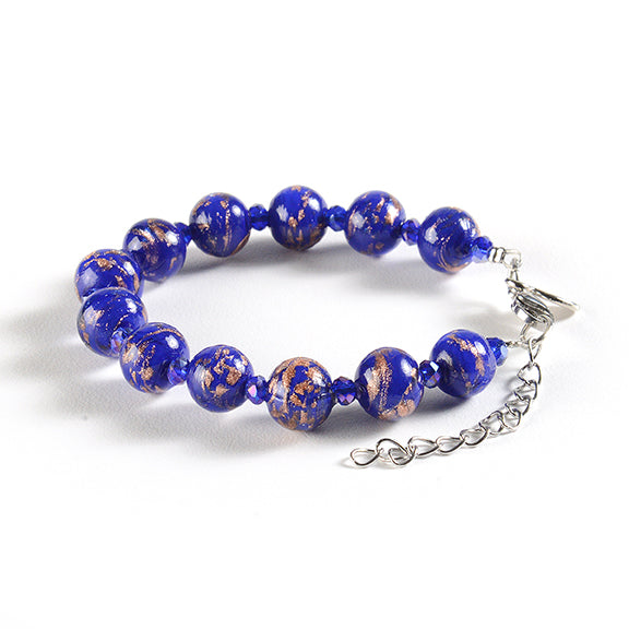 Braccialetto with Clasp in Blue