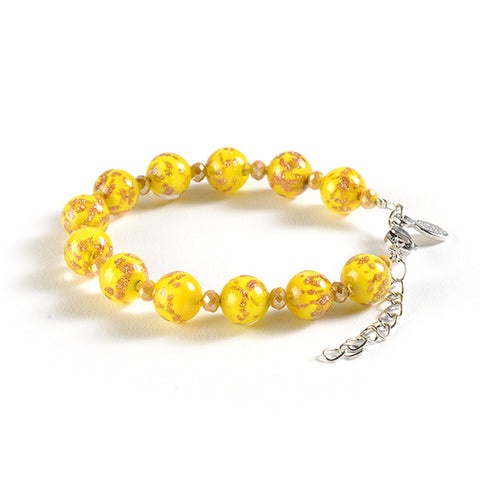 Braccialetto with Clasp in Yellow