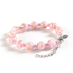 Braccialetto with Clasp in Pink