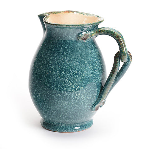 Capri Pitcher with Interlocked Handle
