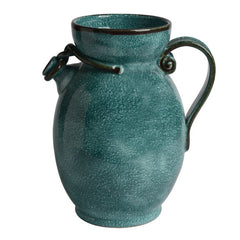 Decorative Pitcher with Handle Knotted Spout