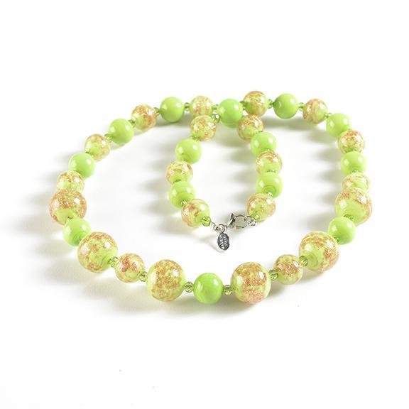 Collana in Light Green