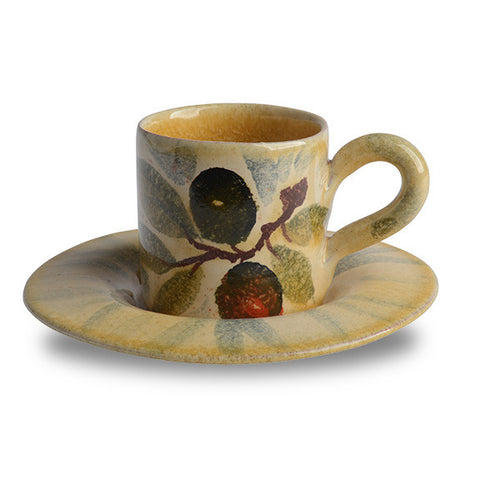 Extra Virgin Espresso Cup and Saucer
