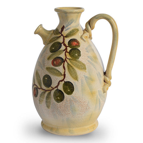 Extra Virgin Large Decorative Pitcher