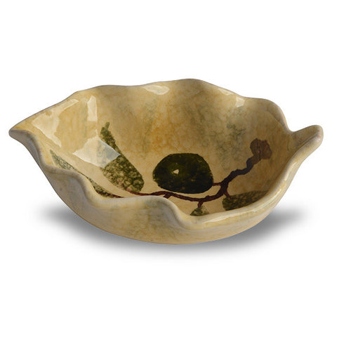 Extra Virgin Small Leaf Bowl