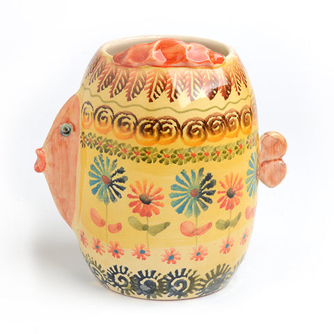 Festa Fish Utensil Jar