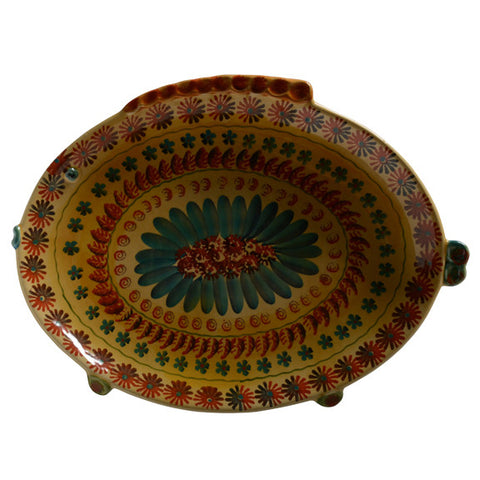 Festa Large Oval Serving Dish with Fish