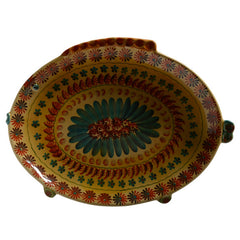 Large Oval Serving Dish with Fish