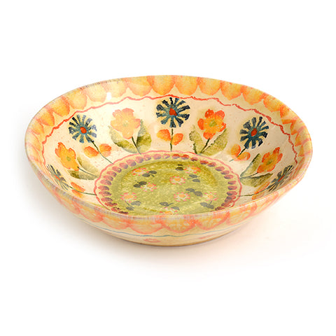 Festa Green Soup Bowl