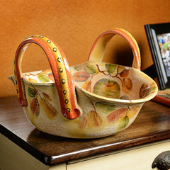 Frutta Laccata Large Basket Bowl