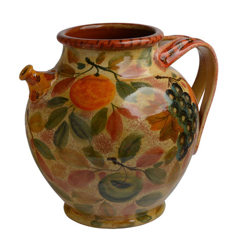 Frutta Laccata Small Decorative Pitcher