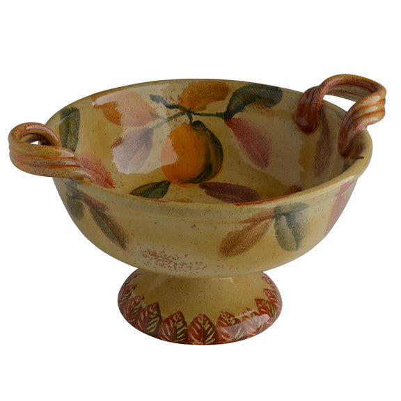 Round Centerpiece with Handles